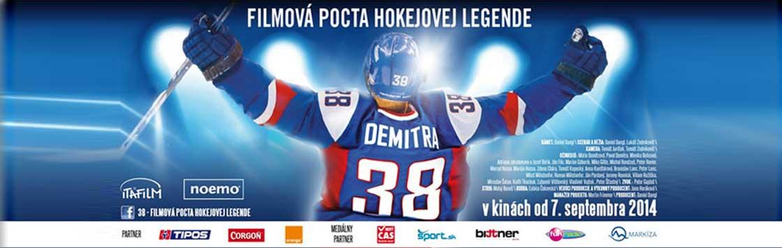 Pavol Demitra: 38 – filmová pocta hokejovej legende